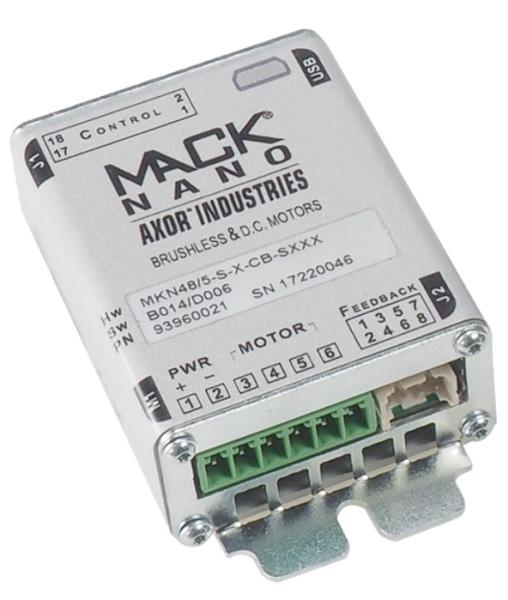 Variateur Mack Nano AXOR recto